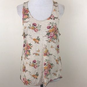 Alternative Earth Floral Sleeveless Tank Top